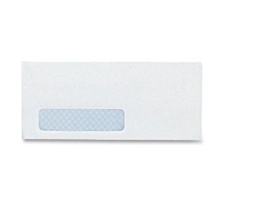 10-Single-LEFT-Window-SELF-SEAL-Security-Business-Envelopes-Ideal-for-Business-Legal-Mailing-Super-Strong-QUICK-SEAL-Closure-Security-Tint-Size-4-18-x-9-12-Inches-24-LB-500-Count-35210-0-0