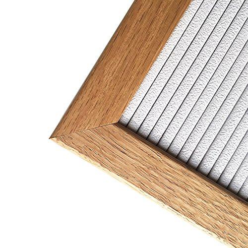 10-x-10-Changeable-Oak-Wood-Letter-Board-Set-w-290-PC-Letters-Numbers-White-Vinyl-with-Oak-Wood-Frame-0-0