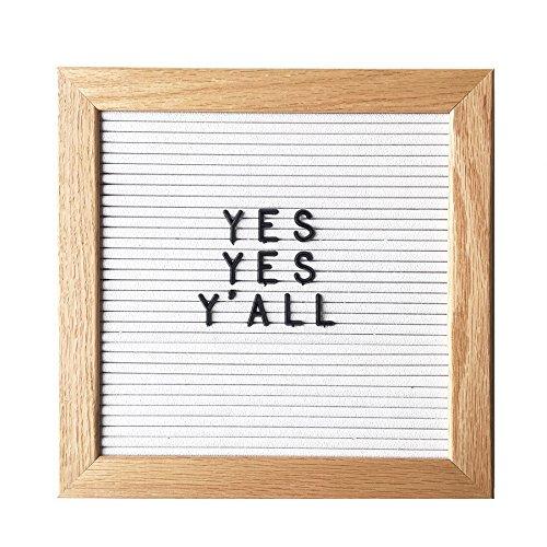 10-x-10-Changeable-Oak-Wood-Letter-Board-Set-w-290-PC-Letters-Numbers-White-Vinyl-with-Oak-Wood-Frame-0