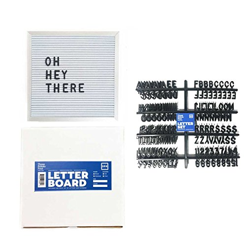 10-x-10-Changeable-White-Letter-Board-Set-w-290-PC-Letters-Numbers-White-Vinyl-w-Silver-Aluminum-Frame-0-0
