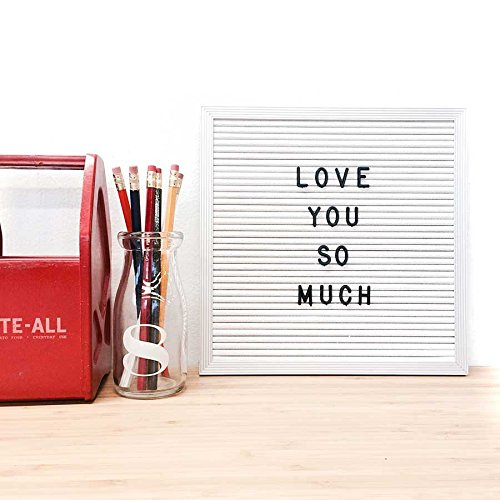 10-x-10-Changeable-White-Letter-Board-Set-w-290-PC-Letters-Numbers-White-Vinyl-w-Silver-Aluminum-Frame-0-1