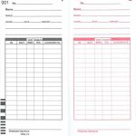 1000-X10-Time-Cards-for-Compumatic-XL1000-and-XL1000e-Calculating-Time-Recorder-0