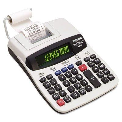 1310-Big-Print-Commercial-Thermal-Printing-Calculator-Black-Print-6-LinesSec-0