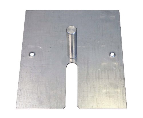 16-x-14-10-lb-Steel-Base-Plate-with-Pin-and-Edge-Protectors-For-Pipe-and-Drape-Displays-and-Backdrops-0