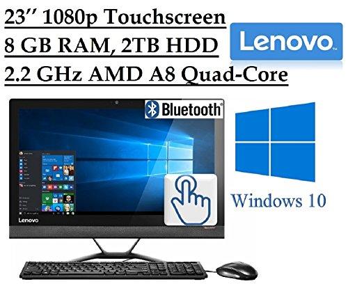 2016-Newest-Lenovo-Premium-23-Full-HD-1920-x-1080-Touchscreen-All-In-One-Desktop-PC-Quad-Core-AMD-A8-7410-22-GHz-8GB-RAM-2TB-7200RPM-HDD-DVD-Webcam-HDMI-Bluetooth-80211ac-WiFi-Windows-10-0