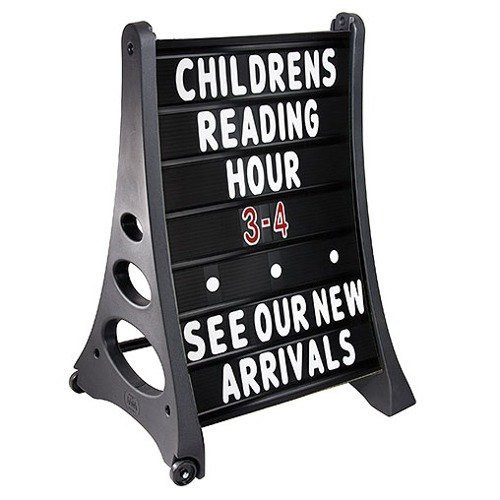 24-x-36-QLA-Outdoor-Plastic-Rolling-Sidewalk-Curb-Sign-A-Frame-Sign-with-Quick-Load-Changeable-Message-Board-and-Letters-Black-0