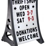 24-x-36-QLA-Outdoor-Plastic-Rolling-Sidewalk-Curb-Sign-A-Frame-Sign-with-Quick-Load-Changeable-Message-Board-and-Letters-White-0