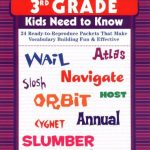 240-Vocabulary-Words-3rd-Grade-Kids-Need-To-Know-24-Ready-to-Reproduce-Packets-That-Make-Vocabulary-Building-Fun-Effective-0