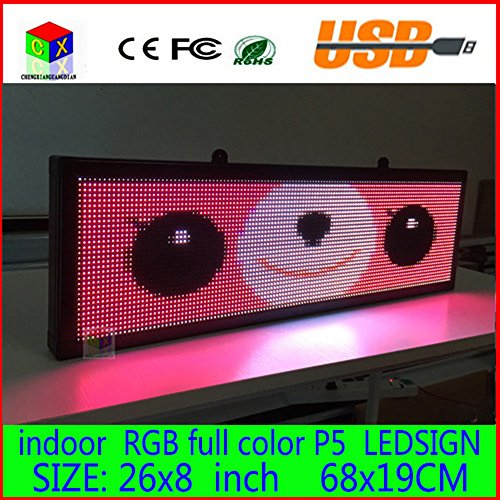 26x-8-Programmable-Scrolling-Message-LED-Display-Sign-led-panel-Indoor-Board-P5-full-color-0-1