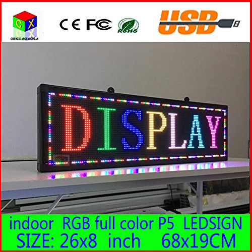 26x-8-Programmable-Scrolling-Message-LED-Display-Sign-led-panel-Indoor-Board-P5-full-color-0