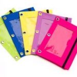 3-Ring-Binder-Pencil-Pouch-Clear-Window-Bright-Colors-0-0