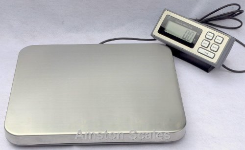 400-LB-x-01-LB-Digital-Postal-Postage-Shipping-Scale-Stainless-Steel-Platform-USPS-UPS-FEDEX-0