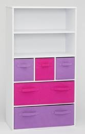4D-Concepts-Girls-Storage-Bookcase-White-0