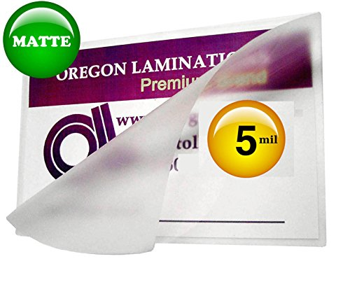 5-Mil-Matte-Letter-Laminating-Pouches-Qty-100-Hot-9-x-11-12-Laminator-Sleeves-0