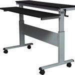 60-Crank-Adjustable-Sit-to-Stand-up-Desk-with-Heavy-Duty-Steel-Frame-0-1