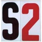 8-On-8-78-Portable-Marquee-Sign-Flex-Black-LettersRed-Numbers-Set-300-Count-0
