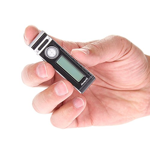 8GB-Mini-Clip-Small-Voice-Recorder-Voice-Activated-Audio-Recording-Device-Tiny-Micro-72-Hour-Battery-Life-w-Extended-Battery-Pack-0