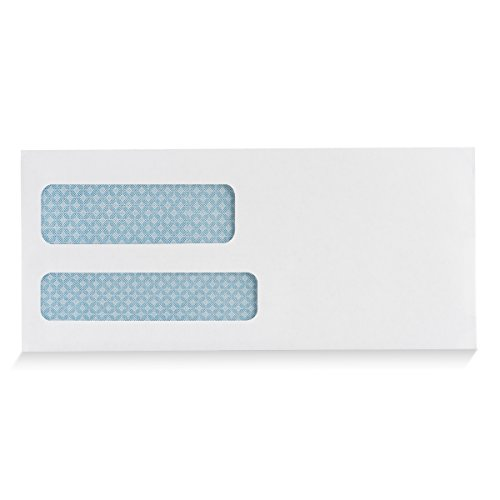 9-Double-Window-SELF-SEAL-Security-Business-Mailing-Envelopes-for-Invoices-Statements-Legal-Documents-QUICK-SEAL-Closure-Security-Tinted-Size-3-78-x-8-78-24-LB-500-Count-30139-0-0