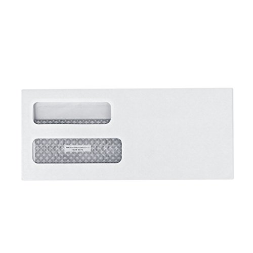 9-FLIP-SEAL-Double-Window-Security-Business-Mailing-Envelopes-for-Invoices-Statements-Legal-Documents-Self-Sealing-Adhesive-Seal-Security-Tinted-Size-3-78-x-8-78-24-LB-500-Count-30109-0-1