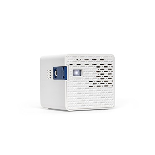 AAXA-HD-Pico-LED-Projector-with-150-Minute-Rechargeable-Battery-1280-x-720p-HD-Native-Resolution-Portable-Mini-Cube-Design-20000-Hour-LEDs-with-Onboard-Media-Player-0-0