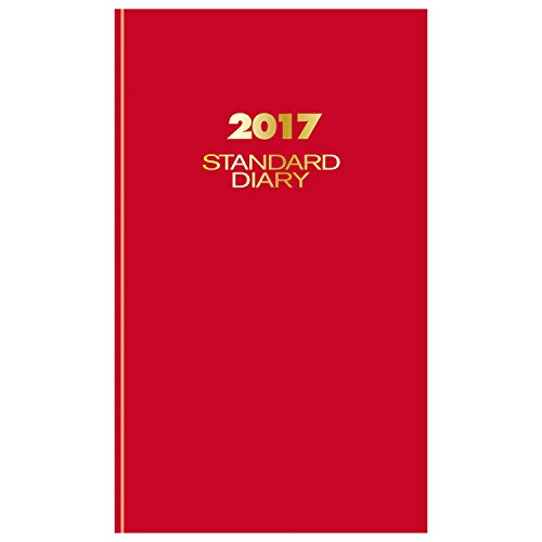 AT-A-GLANCE-Diary-2017-Standard-Daily-8-316-x-13-716-Red-SD381-77-0