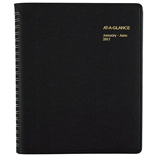 AT-A-GLANCE-Group-Daily-Appointment-Book-Planner-2017-Eight-Person-8-12-x-10-78-Black-70-212-77-0-0