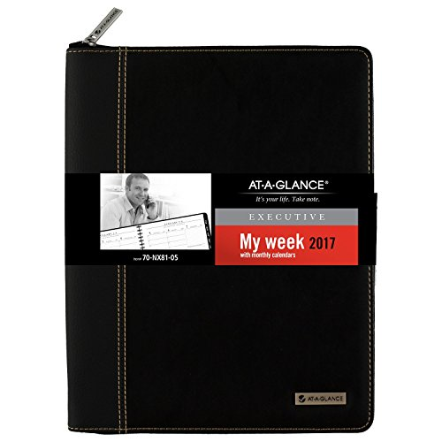 at a glance weekly monthly appointment book planner 2017