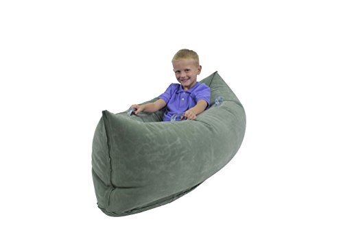 Abilitations-1512739-Inflatable-Pea-Pod-Kindergarten-to-1-4-to-7-Years-20-Height-29-Wide-48-Length-Vinyl-Junior-Green-0