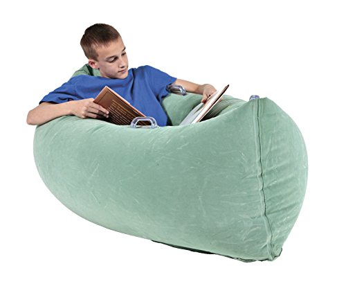 Abilitations-Inflatable-PeaPod-Medium-60-in-Vinyl-Green-0