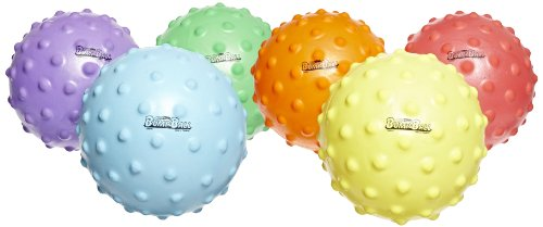 Abilitations-Large-SloMo-Slow-Motion-BumpBalls-7-To-10-inch-Set-of-6-Assorted-Colors-0