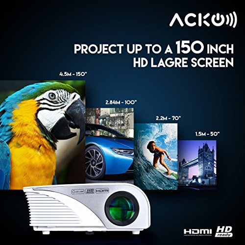 Acko-Portable-Mini-LED-Projector-Office-Home-Theater-1200-LM-Multimedia-Outdoor-Projector-20-150-Screen-HDMI-VGA-USB-AV-SD-Audio-Out-1080P-Smart-Phone-Tablet-Computers-White-Warranty-Included-0-1