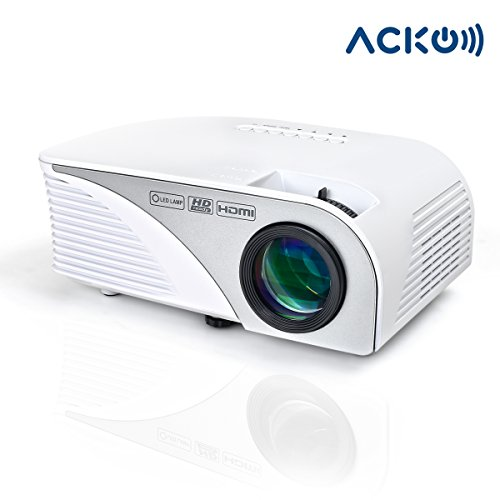 Acko-Portable-Mini-LED-Projector-Office-Home-Theater-1200-LM-Multimedia-Outdoor-Projector-20-150-Screen-HDMI-VGA-USB-AV-SD-Audio-Out-1080P-Smart-Phone-Tablet-Computers-White-Warranty-Included-0