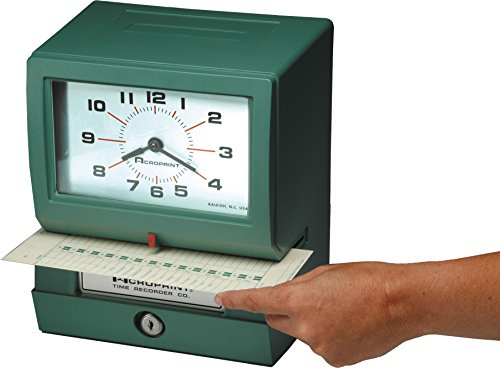 Acroprint-150NR4-Heavy-Duty-Automatic-Time-Recorder-for-Month-Date-Hour-1-12-and-Minutes-Time-Clock-0-0