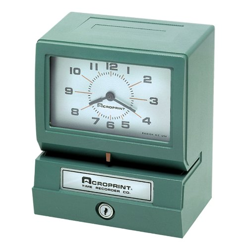Acroprint-150NR4-Heavy-Duty-Automatic-Time-Recorder-for-Month-Date-Hour-1-12-and-Minutes-Time-Clock-0