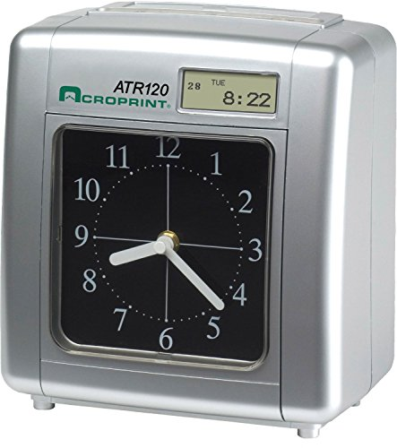 Acroprint-ATR120-Electronic-Top-Loading-Time-Recorder-Time-Clock-Time-Clock-0