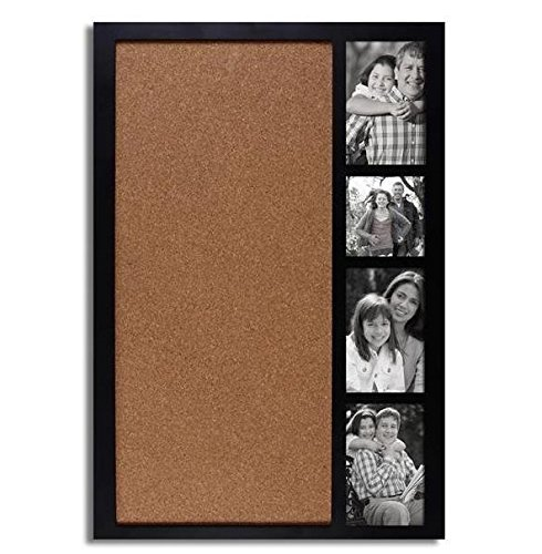 Adeco Pf0178 Decorative Black Wood Wall Hanging Collage