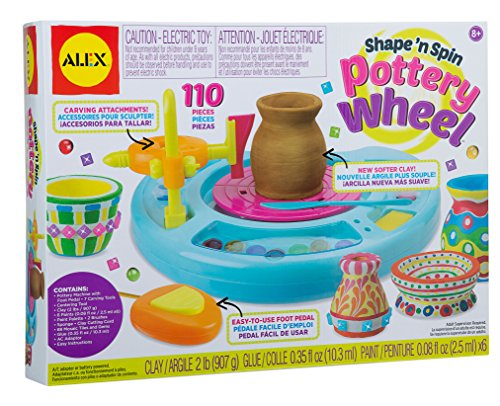 Alex-Deluxe-Pottery-Wheel-with-AC-Adapter-0-0