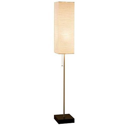 Alsy-60-In-Brushed-Nickel-Floor-Lamp-with-Paper-Shade-and-Decorative-Faux-Wood-Base-0