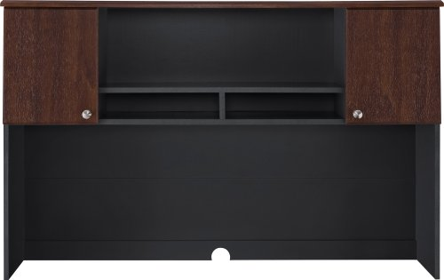 Altra The Works L Shaped Desk Cherry Slate Gray Office