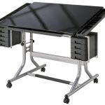 Alvin-CraftMaster-II-Deluxe-Art-Drawing-Glass-Top-Table-0