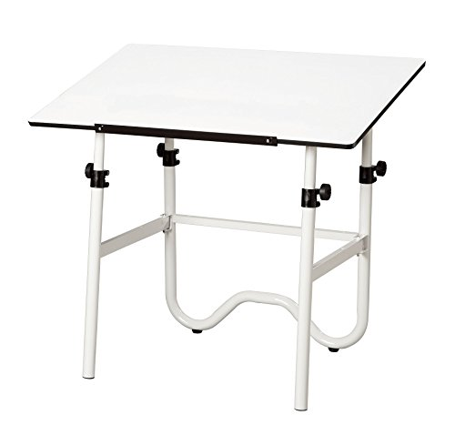 Alvin-ONX36-4-Onyx-White-Base-with-White-24-inches-x-36-inches-Top-0