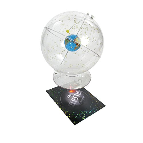 American-Educational-310-Basic-Transparent-Celestial-Globe-12-Diameter-0