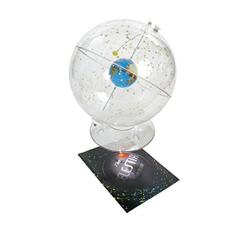 American-Educational-310-Basic-Transparent-Celestial-Globe-12-Diameter-0