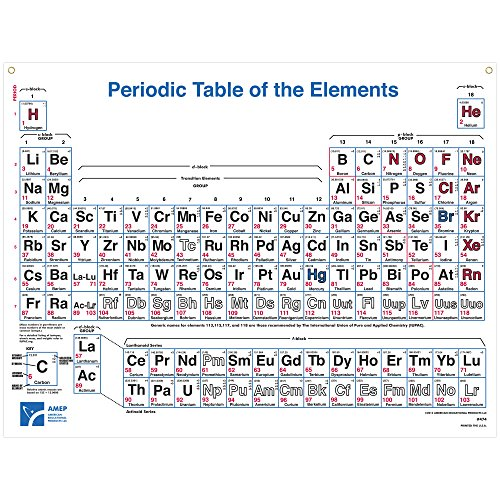 American-Educational-4-Color-Periodic-Table-Wall-Chart-49-12-Length-x-38-Width-Now-includes-elements-up-to-UUO118-0