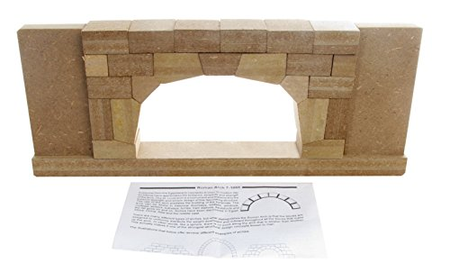 American-Educational-Precision-Cut-Wood-Roman-Arch-Model-17-12-Length-x-2-Width-x-7-Height-0