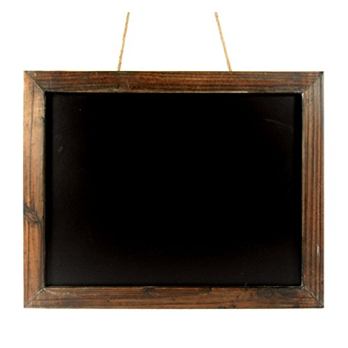 Antique-Brown-Wood-Frame-Chalkboard-19-in-0