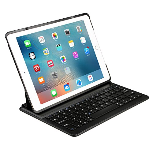 Apple-ipad-Air-2-Keyboard-Cover-Inateck-Ultra-Slim-Wireless-Bluetooth-Keyboard-Case-with-Auto-Wake-Sleep-Function-and-Multi-Angle-Stand-for-Apple-iPad-Air-2-iPad-Pro-97-Black-0-1