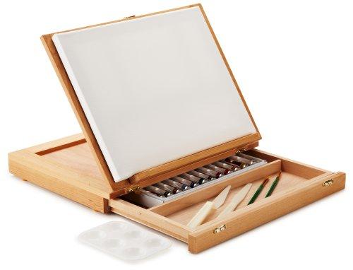 Art-Advantage-Wood-Art-Box-Easel-Paint-Set-0-0
