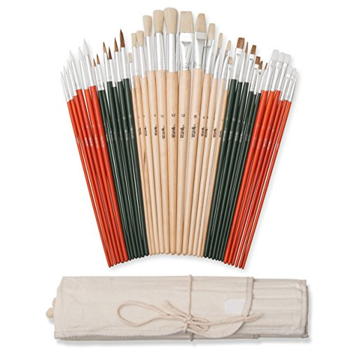 Art-Owl-Studio-36-Paint-Brush-Set-Natural-Synthetic-Art-Brushes-for-Acrylic-Painting-Oil-Watercolor-0-0