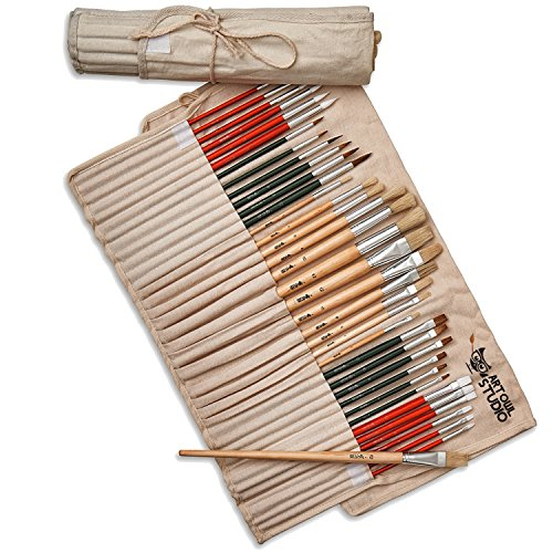 Art-Owl-Studio-36-Paint-Brush-Set-Natural-Synthetic-Art-Brushes-for-Acrylic-Painting-Oil-Watercolor-0